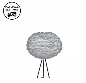 LAMPA STOŁOWA Z PIÓR EOS LARGE Ø65 LIGHT GREY VITA COPENHAGEN DESIGN