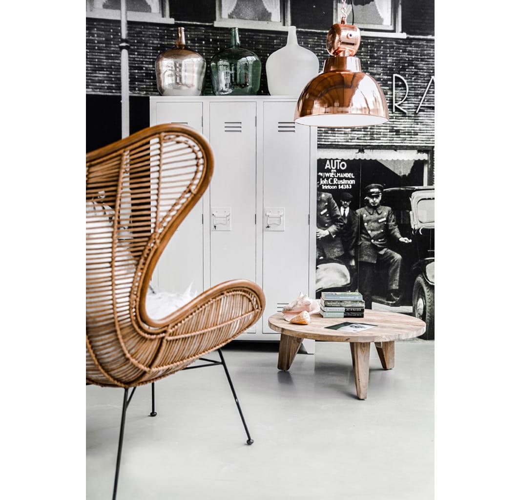 Hk Living Egg Chair.Fotel Rattanowy Egg Naturalny Hk Living Cobostore
